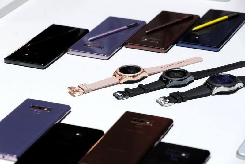 Samsung Galaxy Note 9-фото с мероприятия 3