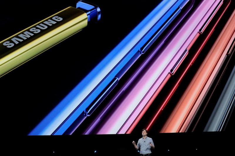 Samsung Galaxy Note 9-фото с мероприятия 6