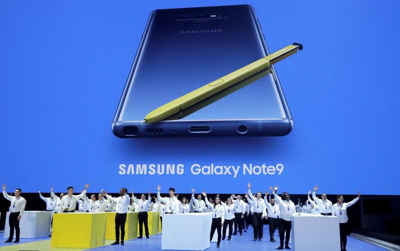 Samsung Galaxy Note 9-фото с мероприятия 9