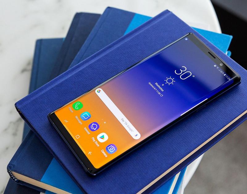 Samsung Galaxy Note 9-лицевая панель