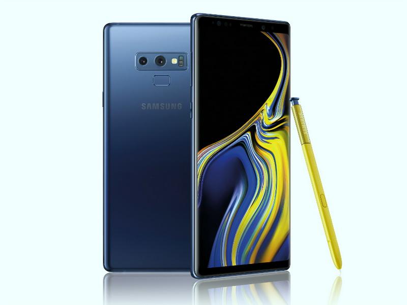 Samsung Galaxy Note 9-ракурсы