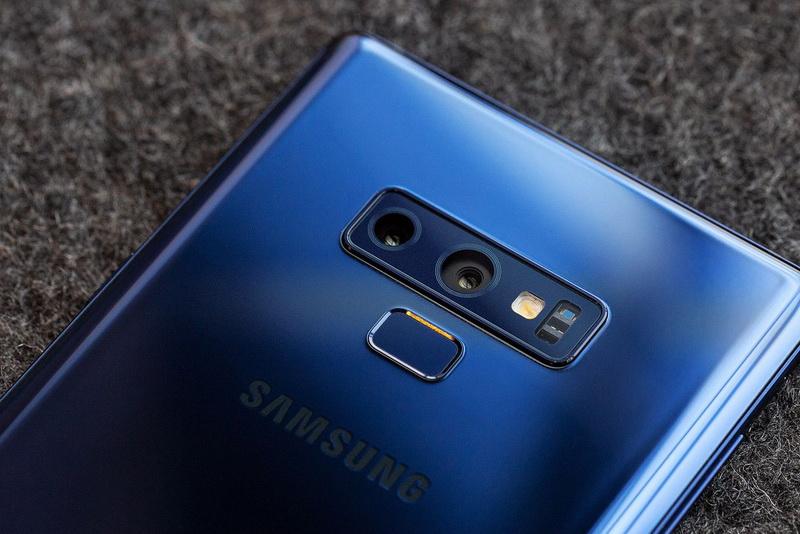 Samsung Galaxy Note 9-задняя панель