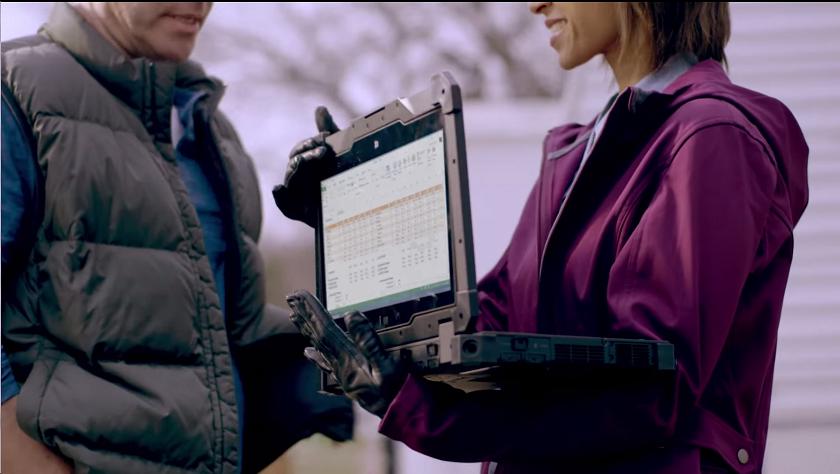 Самый свежий обзор ноутбука Dell Latitude Rugged Extreme - демонстрация работы ноутбука dell