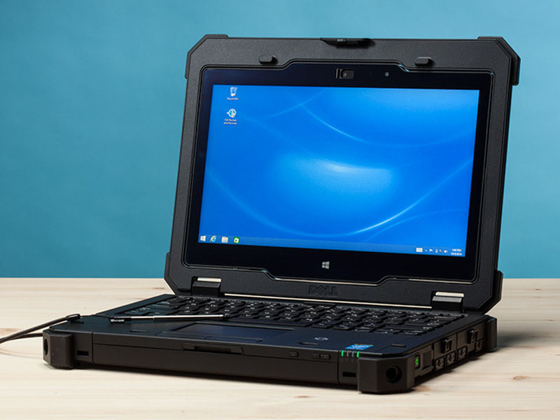 Самый свежий обзор ноутбука Dell Latitude Rugged Extreme - операционная система на Dell