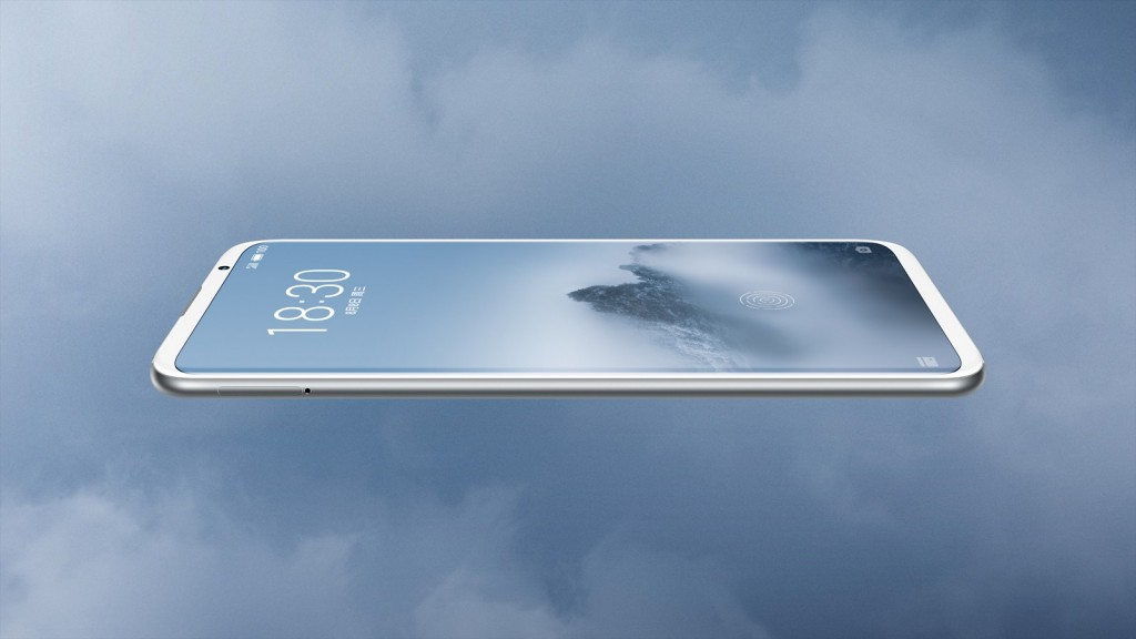 Возможный Meizu 16 засветился на фото - безрамочный экран смартфона