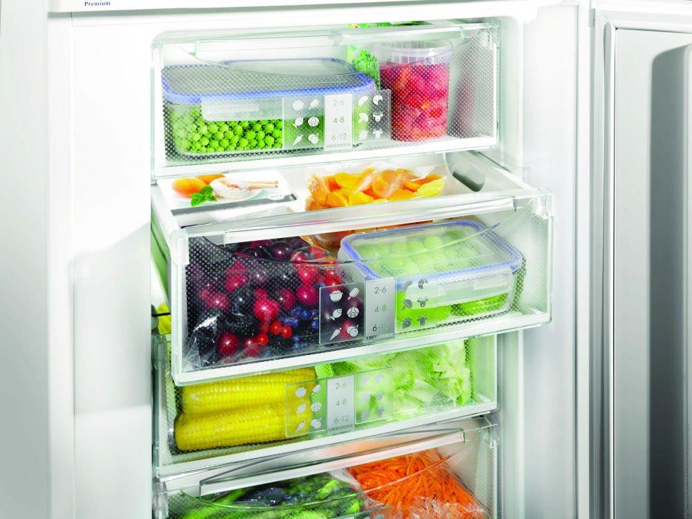 Замораживайте молниеносно обзор морозильных камер с функцией быстрой заморозки - замороженные продукты