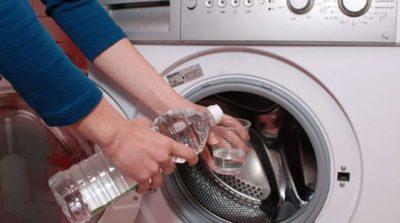 Уксус при чистке стиральной машины