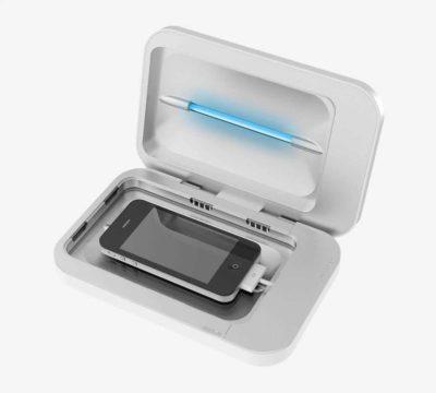 УФ-лампа для дезінфекції телефонів