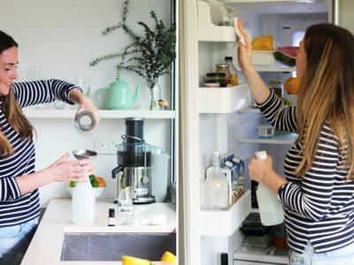 Мойка холодильника народными средствами