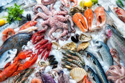 Заморожені морепродукти