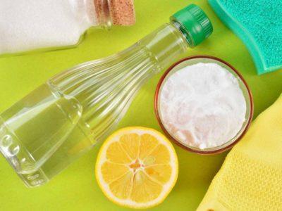 Лимон та інші засоби для чищення пральної машини