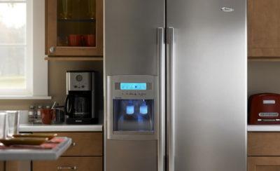 Холодильник с дисплеем