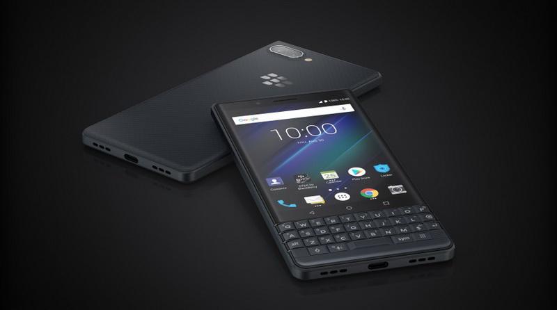 BlackBerry KEY2 LE-экран