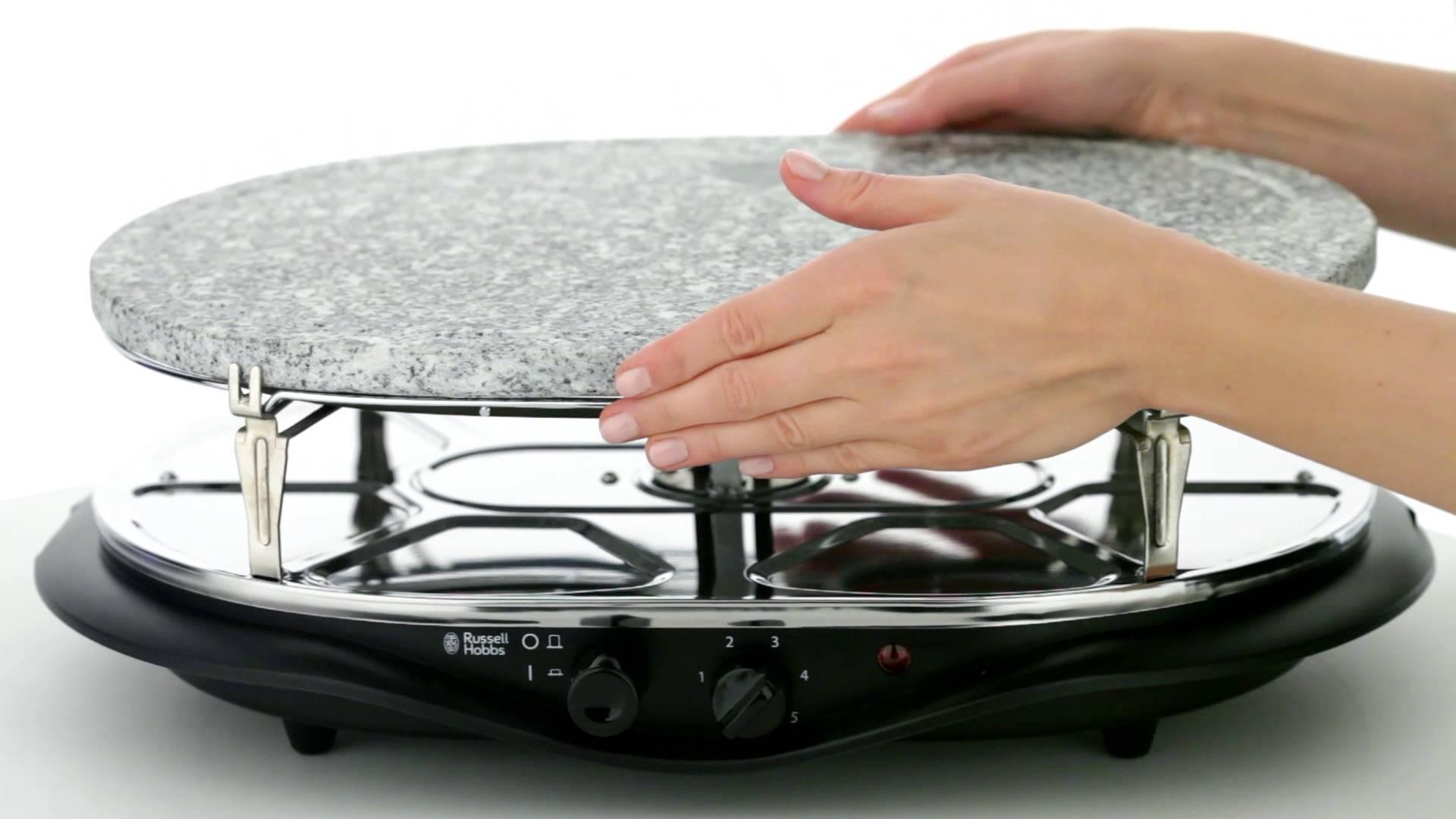 Домашний электрогриль_детальный анализ всех за и против - Russell Hobbs 21000-56 Fiesta Raclette