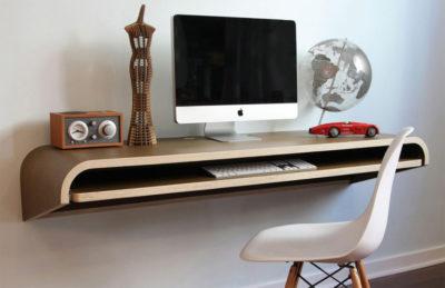 Floating-desk-top (компьютерная полочка)