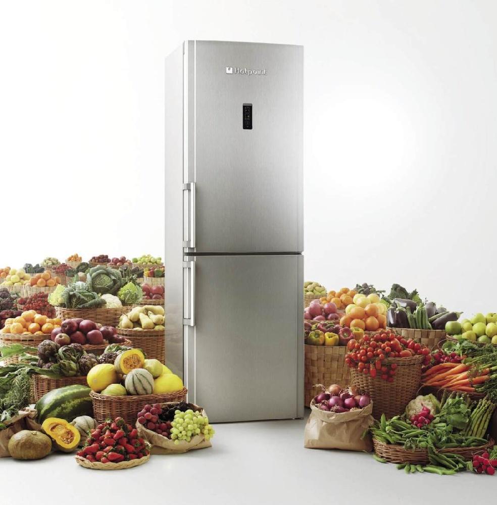 Холодильники Hotpoint Ariston _ лучши модели ТОП-ового бренда на рынке Украины - холодильник Аристон и продукты вокруг