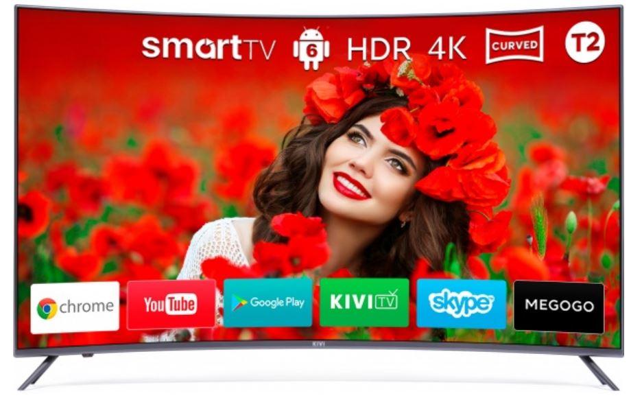 Изогнутый экран в телевизоре прихоть или полезная функция Разбираемся в вопросе - Kivi 55UC30G
