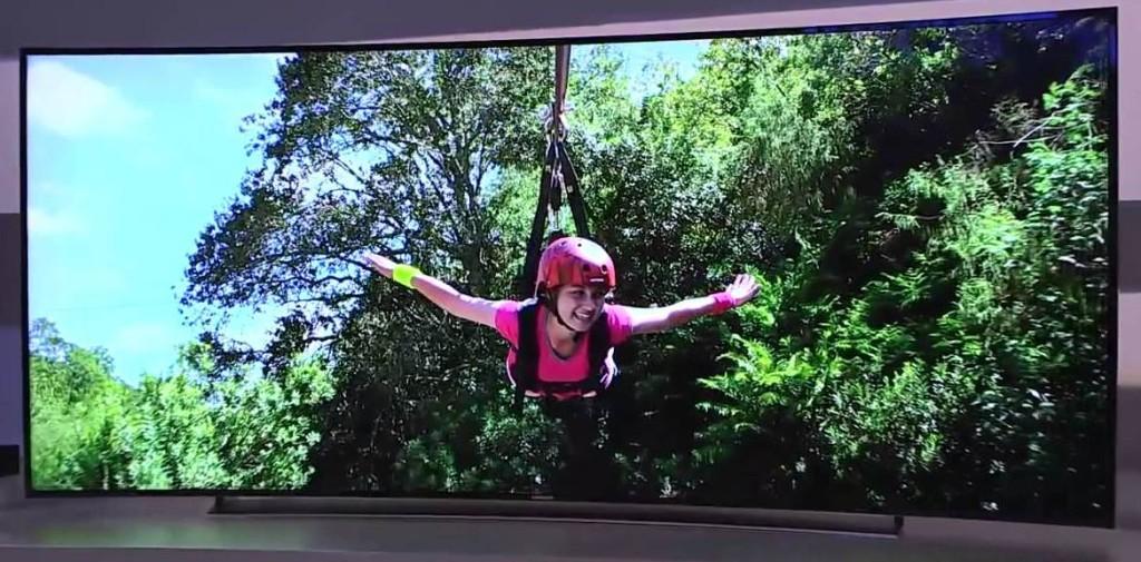 Изогнутый экран в телевизоре прихоть или полезная функция Разбираемся в вопросе - LG 77EC980V