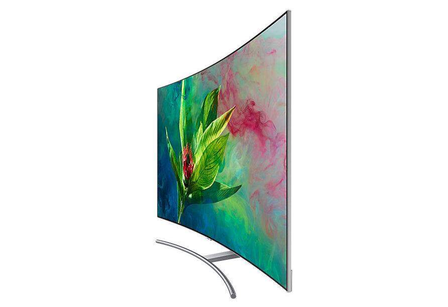 Изогнутый экран в телевизоре прихоть или полезная функция Разбираемся в вопросе - Samsung QE55Q8CNAUXUA
