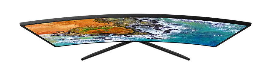 Изогнутый экран в телевизоре прихоть или полезная функция Разбираемся в вопросе - Samsung UE49NU7500UXUA