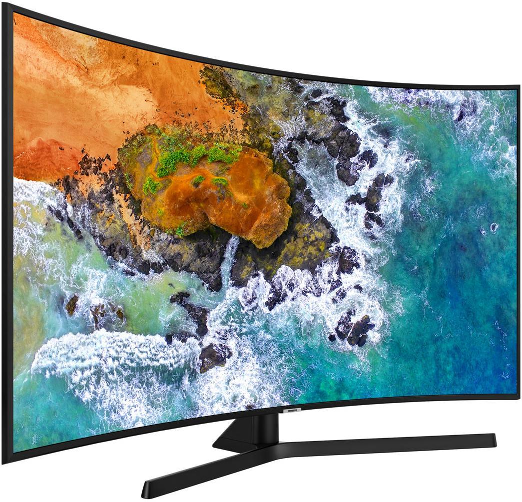 Изогнутый экран в телевизоре прихоть или полезная функция Разбираемся в вопросе - Samsung UE55NU7500UXUA