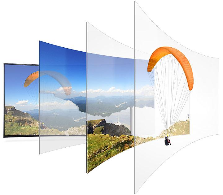 Изогнутый экран в телевизоре прихоть или полезная функция Разбираемся в вопросе - технология auto depth enhancer