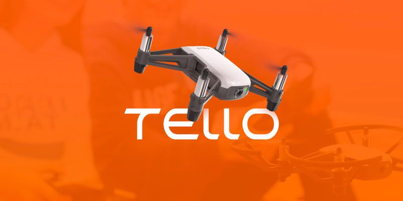 Квадрокоптер для ребенка_обзор лучших моделей - Ryze Tello