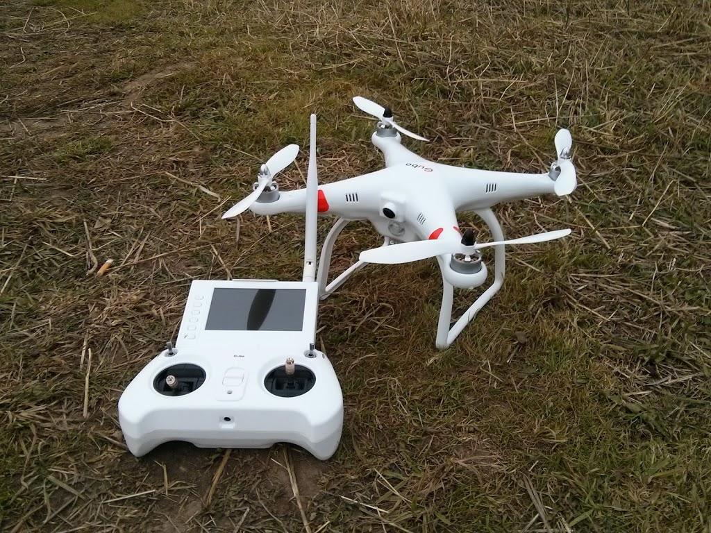 Квадрокоптер для ребенка_обзор лучших моделей - квадрокоптер на земле