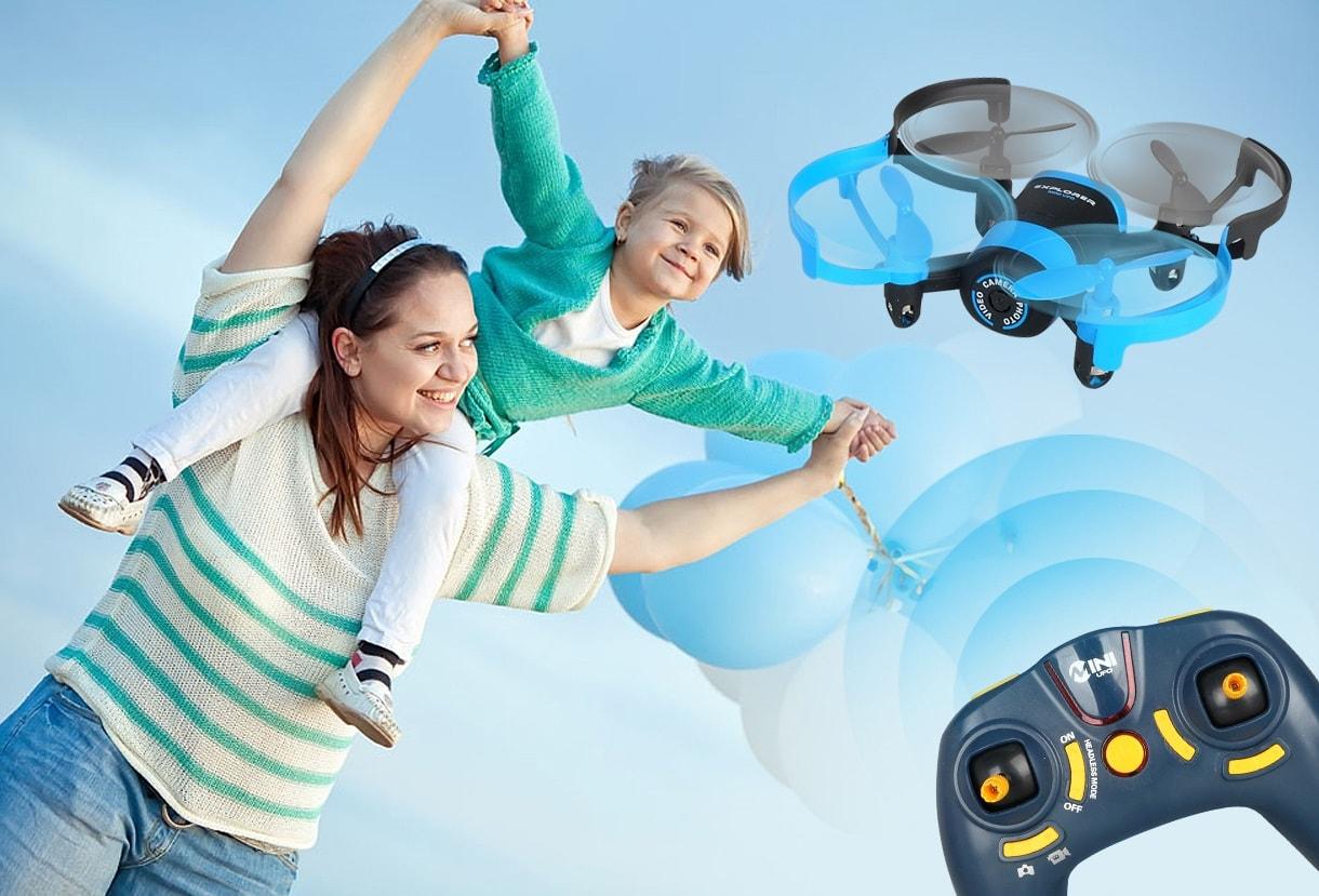 Квадрокоптер для ребенка_обзор лучших моделей - летаем с квадрокоптером