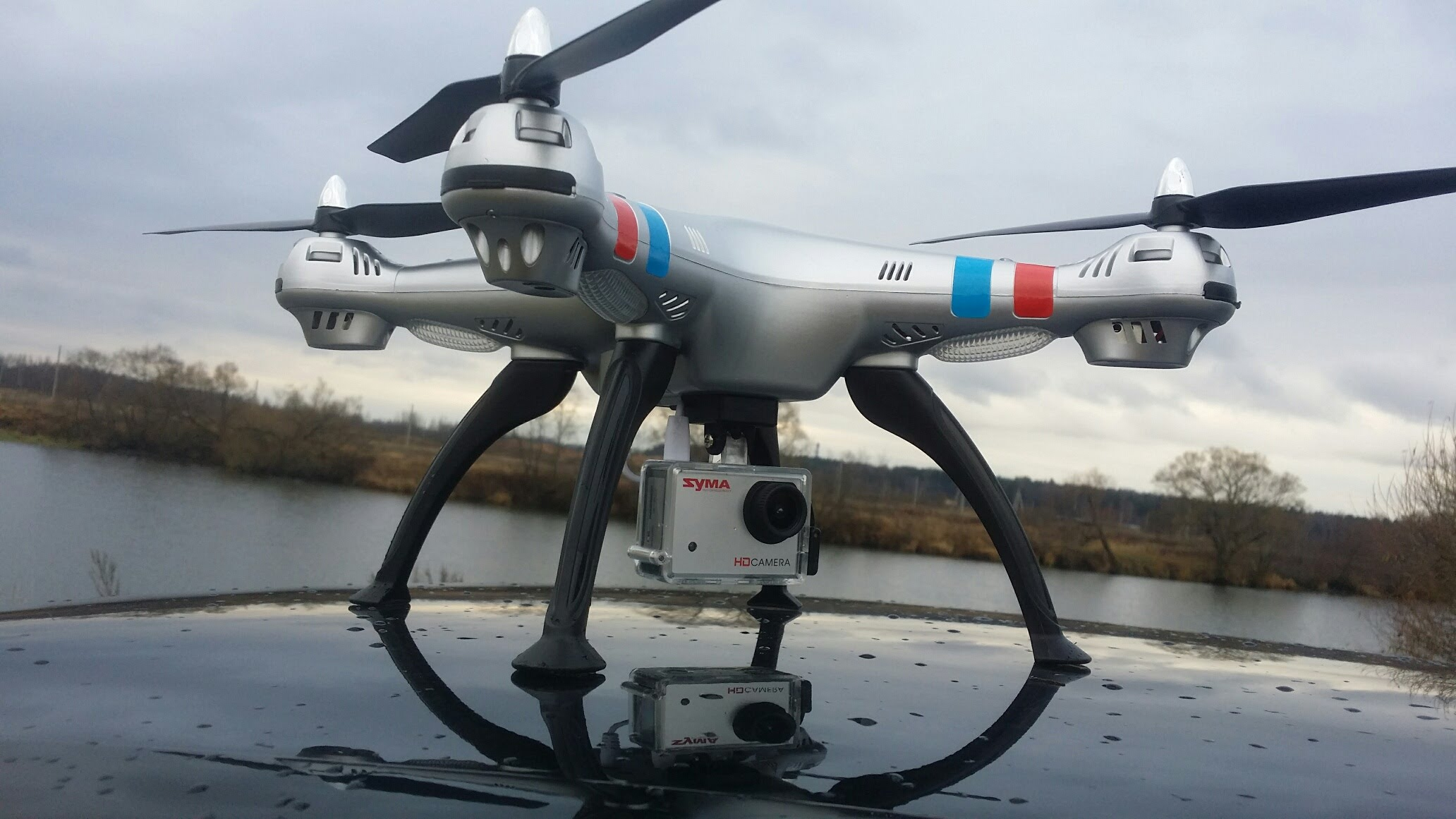 Квадрокоптер_дорогая игрушка или новое слово в любительской видеосъёмке, доставке, спорте - квадрокоптер приземлился