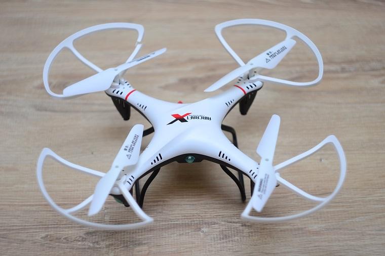 Квадрокоптер_дорогая игрушка или новое слово в любительской видеосъёмке, доставке, спорте - маленький квадрокоптер