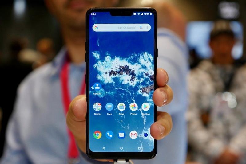 LG G7 One-экран