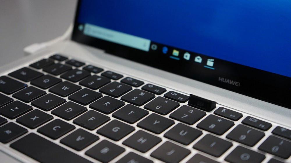 Легкие и тонкие лучшие ноутбуки для тех, кто постоянно в пути - клавиатура ультрабука