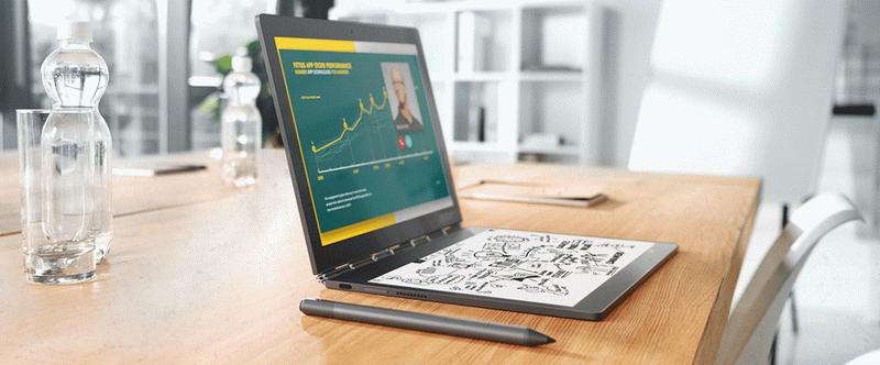 Lenovo Yoga Book C930-Ultrathin and light