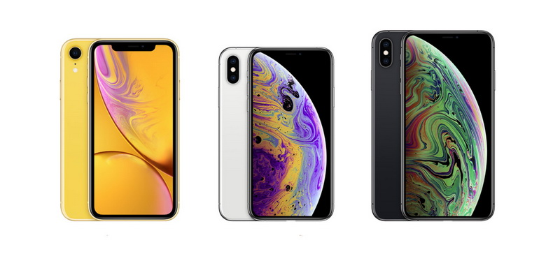 Новые смартфоны-iPhone XR vs iPhone XS vs iPhone XS Max