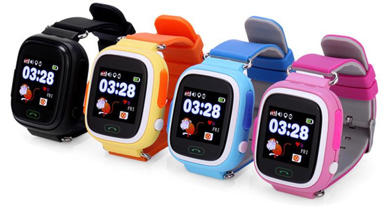 Правила выбора умных часов_ТОП полезных советов - детские умные часы в разных цветах