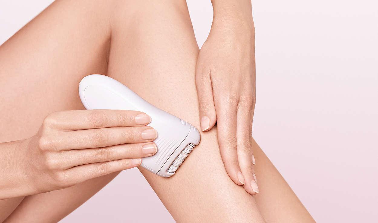 Простой путь к гладкой коже самые безболезненные эпиляторы - эпиляция ног