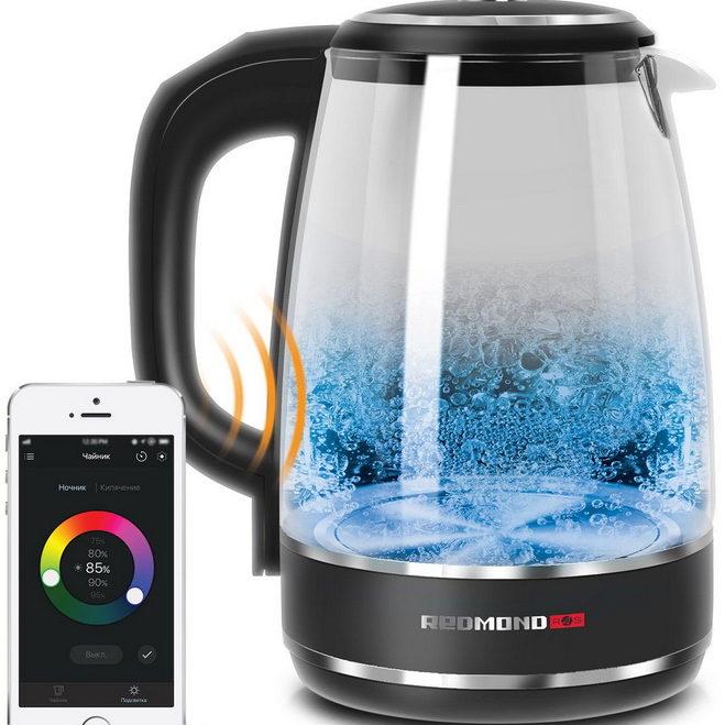 Redmond SkyKettle RK-G200S-умный чайник