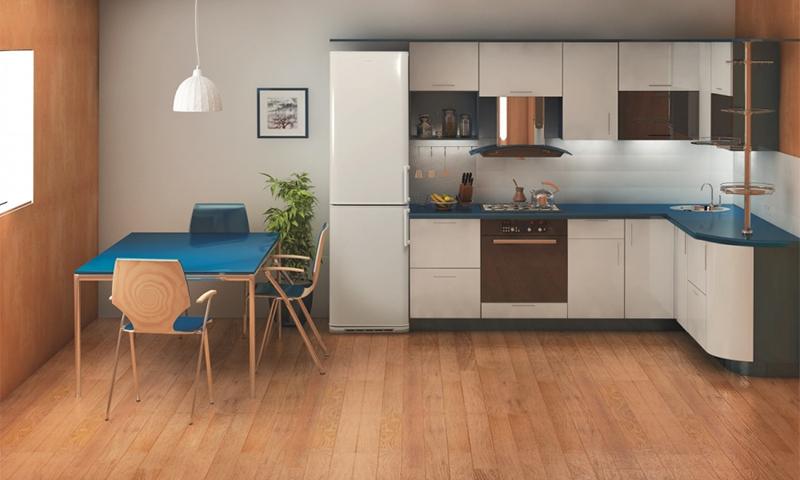 Рейтинг холодильников Indesit по оценкам экспертов COMFY - холодильник Индезит на кухне