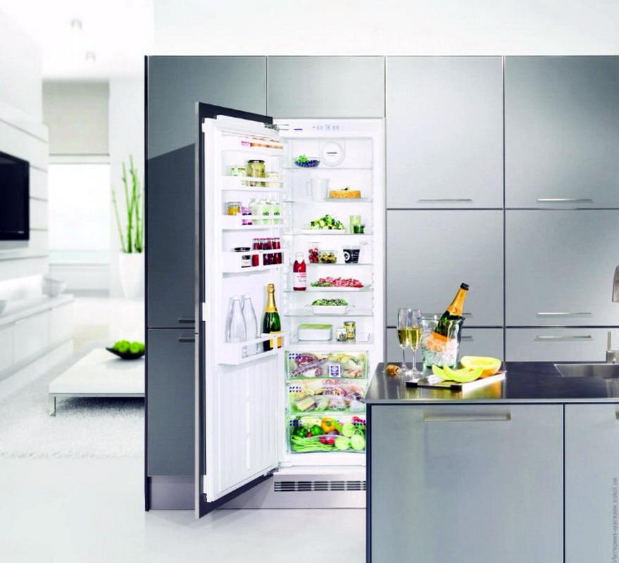 Рейтинг холодильников Indesit по оценкам экспертов COMFY - холодильник с продуктами