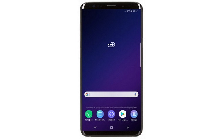 Samsung G965 Galaxy S9 Plus 64Gb Midnight Black-экран