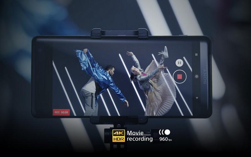 Sony Xperia XZ3-Профессиональная съемка видео в 4K HDR