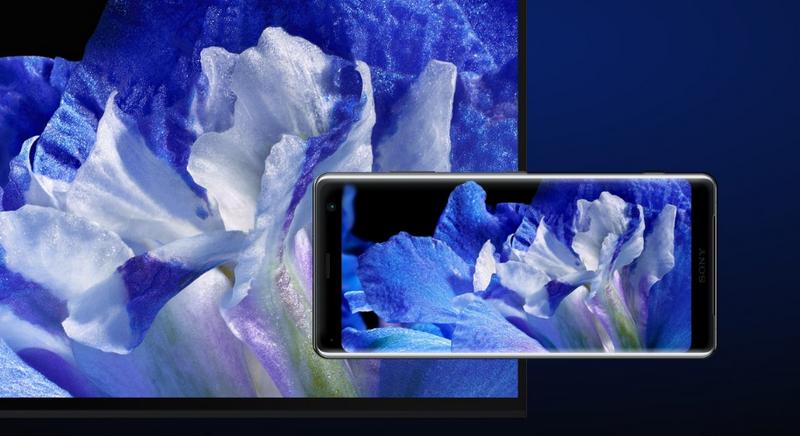 Sony Xperia XZ3-экран