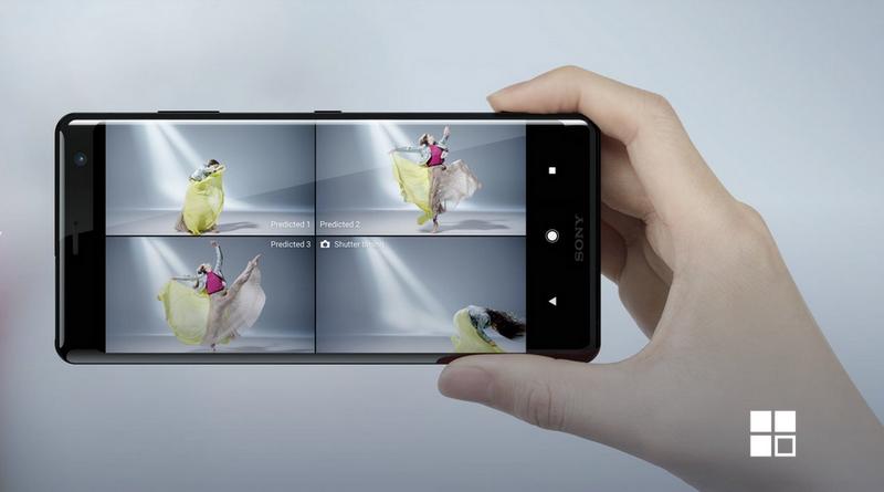 Sony Xperia XZ3-съемка в мгновение ока