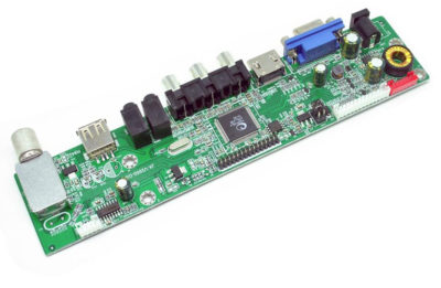 Universal LCD Driver Board (внутренняя плата для переделки монитора в телевизор)