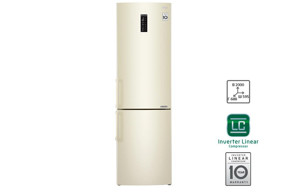 Запасаемся фруктами, ягодами и зеленью до холодов холодильники с объёмными морозилками - LG GA-B499YYUZ