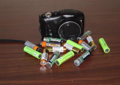 фото Батарея фотоаппарата