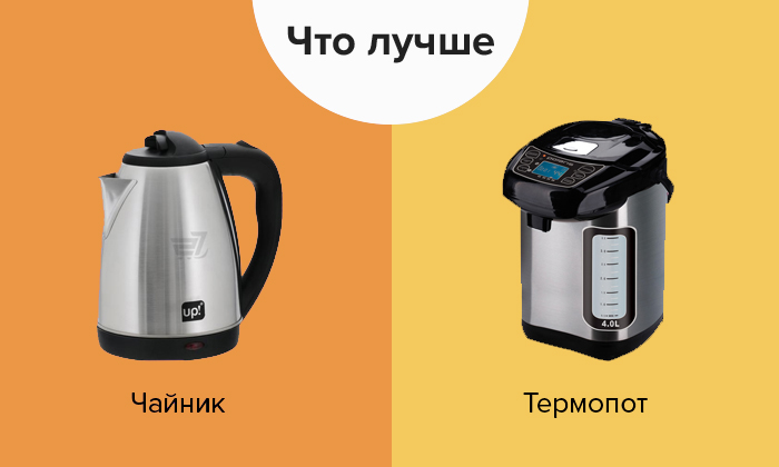 чайник и термопот разница
