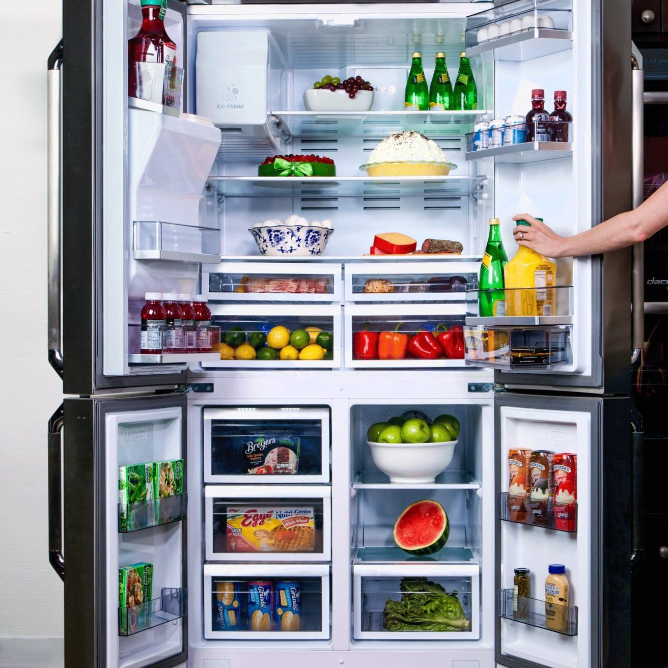 фото холодильник с картинками посмотреть просто фотопечатью можно покрыть