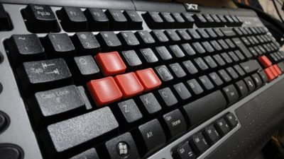 клавиатура 3 кнопки